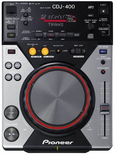 console cdj dj shoppee pioneer cd player console cdj 400s