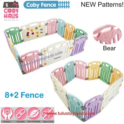 Coby Haus Fence 8 2 coby haus coby fence 8 2 playard pagar anak pagar bayi
