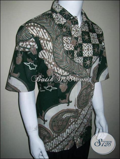 Kemeja Batik Blok Warna Biru Muda kemeja batik eksklusif elegan untuk eksmud eksekutif muda warna hijau ld160t toko batik