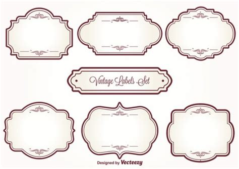 template photoshop vintage 7 cute vintage frames vector free download