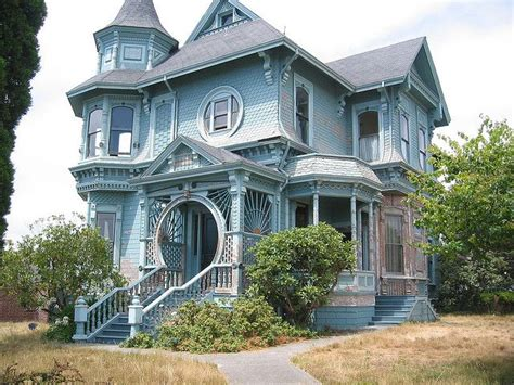 queen ann house blue queen anne victorian house my historic home