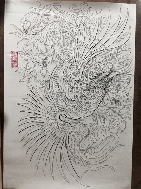 japanese bird tattoo designs pin by phạm đăng on and