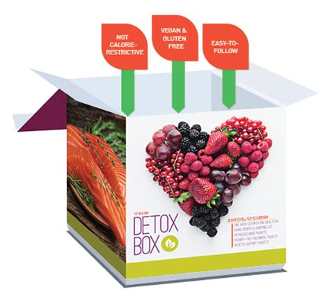 Detox Project Box by The Detox Box Clubsport Health And Fitness