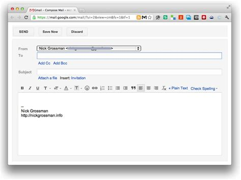 mail gmail compose w gmail and quicksilver nick grossman