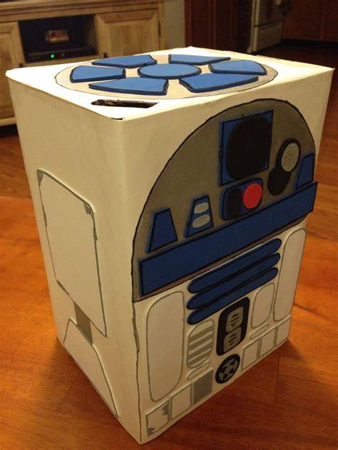 wars box ideas r2d2 box starwars r2d2 crafts