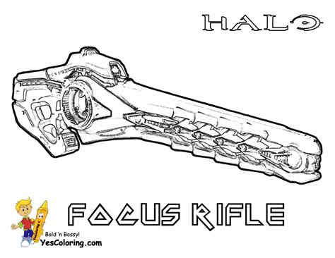 halo guns coloring pages halo gun colouring pages