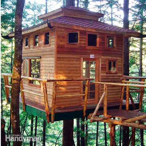 tips when building a home tree house building tips the family handyman
