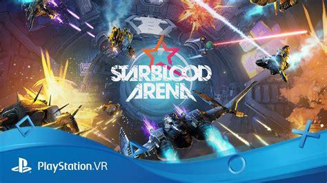 starblood arena psx 2016 reveal trailer ps vr