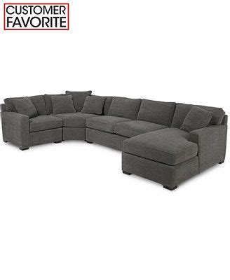 radley 5 piece fabric chaise sectional sofa radley 4 piece fabric chaise sectional sofa shops