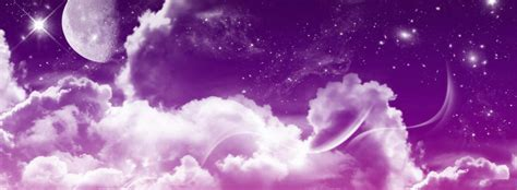 best purple cover purple sky with white clouds fb cover