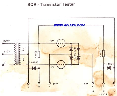 testing of diode and transistor scr diode test 28 images transistor triac and scr tester circuit scr tester electronic