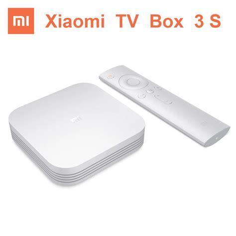 Xiaomi Tv Box 3 original xiaomi tv box 3 3s pro smart 4k hd mitv mibox 3s 2g 8g dual usb support miracast