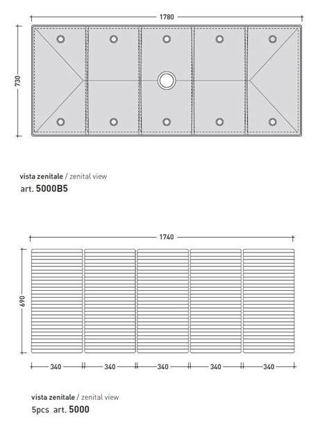 piatto doccia tatami tatami piatto doccia modulare by ceramica flaminia design