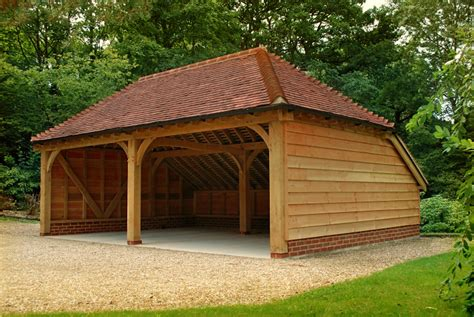 Craftsmen House by Oak Garages Surrey The Classic Barn Company