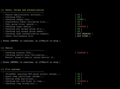 linux logs tutorial lynis security auditing tool for unix linux systems cisofy