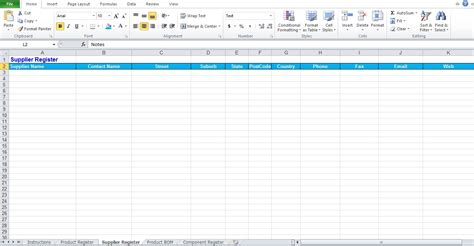 bill of materials spreadsheet template excel bom template contemporary exle resume