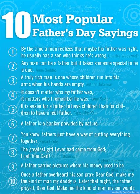 s day verses lyrics 10 most popular fathers day sayings pictures photos and
