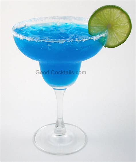 Cocktails Blue Margarita Mixed Drink Recipe