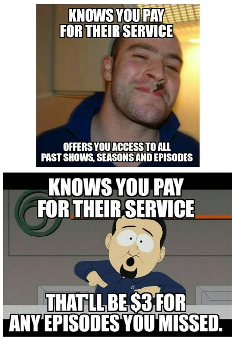 Cable Meme - good guy hbo vs scumbag cable company meme guy