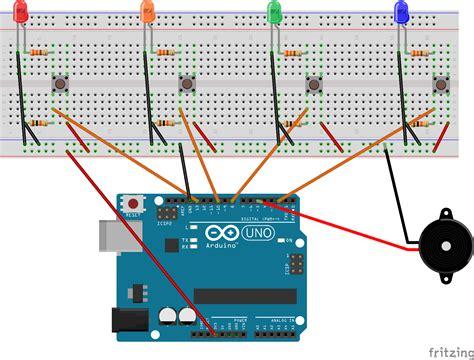 simon says arduino wiring diagram wiring diagrams wiring