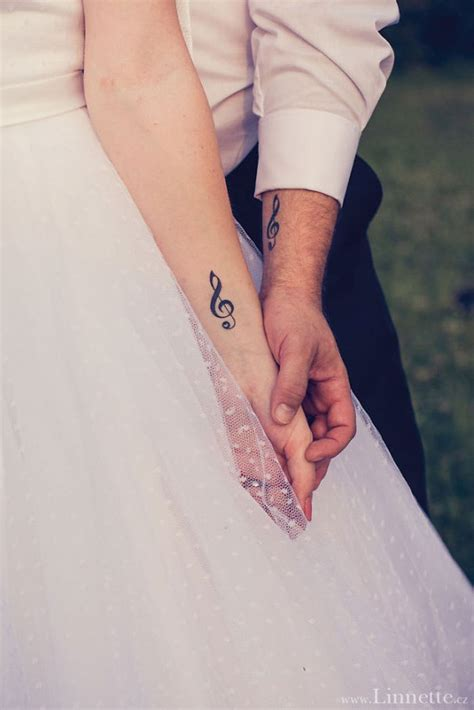 couples music tattoos matching tattoos ideas 31 ways to show