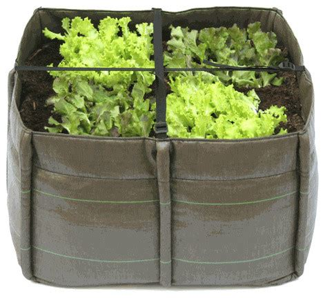 bacsquare 4 portable container garden