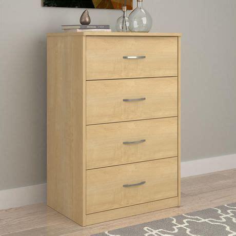 walmart black 4 drawer chest mainstays 4 drawer dresser walmart ca