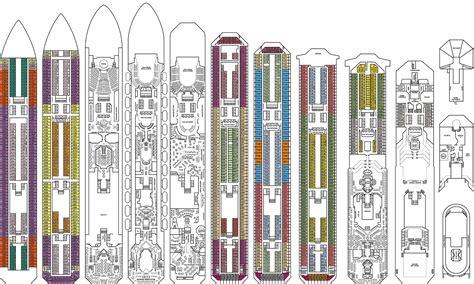 Galerry printable deck plans caribbean princess