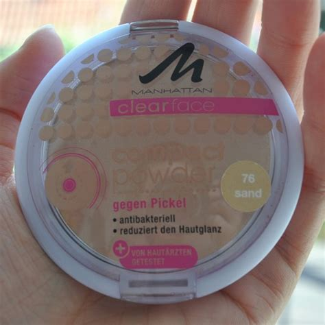 manhattan farbe test puder manhattan clearface compact powder farbe