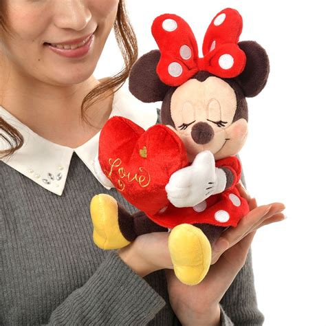 disney store japan minnie plush ebay