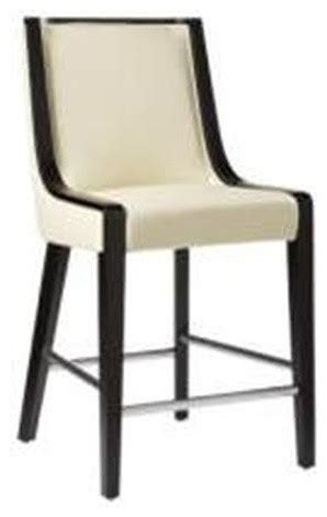 white leather counter height chairs white leather counter height stool modern