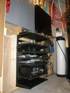 built  wall av rack avs forum custom entertainment