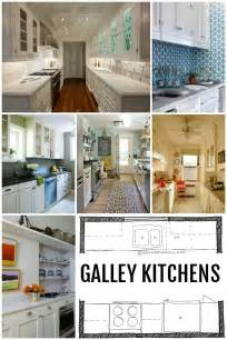 galley kitchen layouts remodelaholic popular kitchen layouts and how to use them