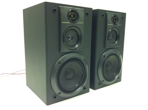 pioneer s p310a bookshelf speakers made in japan for sale