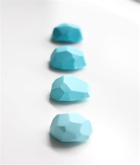 Turquoise Desk Accessories Office Magnets Rocky Mountain Turquoise By A Second Modern Desk Accessories By Etsy