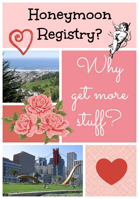 wedding registry honeymoon an evil wedding registry honeymoons vs gifts chronicles