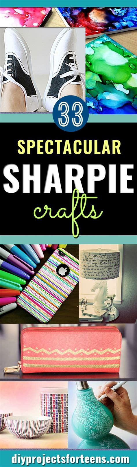 crafts sharpie 33 cool sharpie crafts and diy project ideas awesome