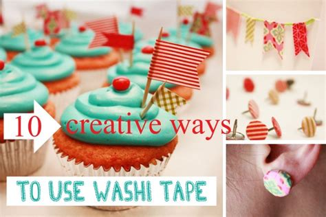 uses for washi tape 10 ways to use washi tape the sits girls