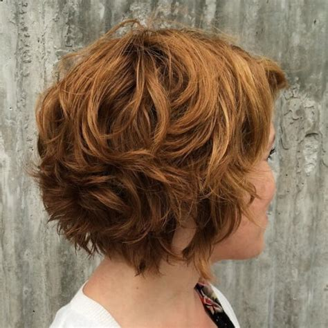 short layered curly hairstyles for wavy hair 50 sassy short layered haircuts hair motive hair motive