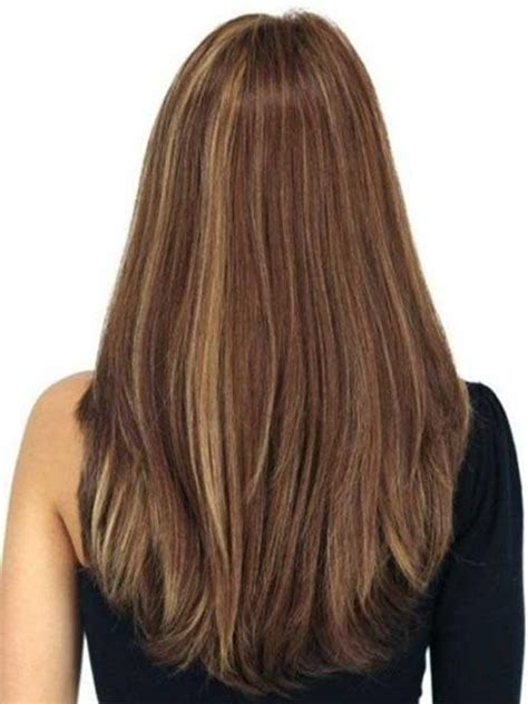 photos of hairstyles that are longer on the one side 15 best ideas of long haircuts from the back