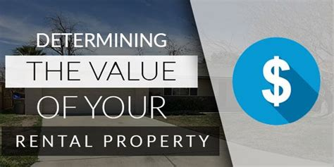 how to determine what your rental property is worth