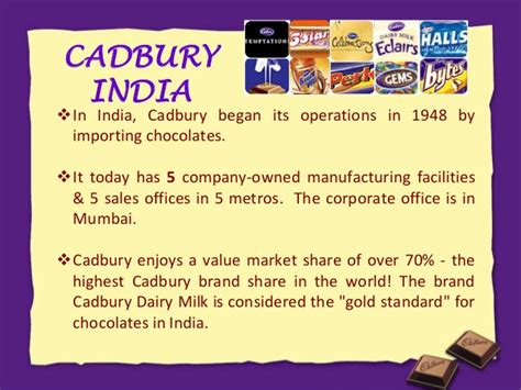 Mba Chocolate Industry In India Beautiful Project by Cadbury Vs Nestle A Marketing Project