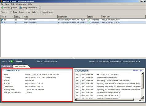 zabbix appliance tutorial vmware converter port 443 is already in use