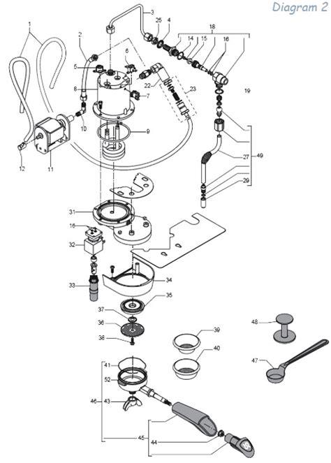 rancilio parts diagram rancilio v3 parts diagram