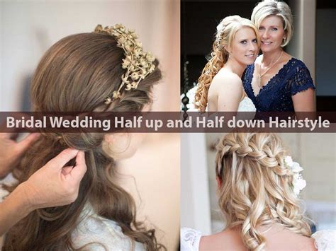 Wedding Hair Pics Half Up by Hairstyles For Wedding Pics Design Ideas