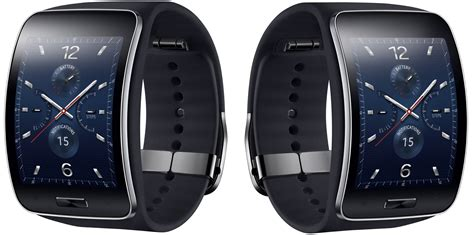 Samsung Gear S Smartwatch Stylish samsung s new smartwatch the gear s can make calls and go without a smartphone