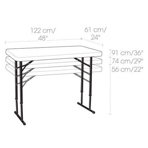 lifetime 80160 commercial height adjustable folding utility table lifetime 80160 commercial height adjustable folding
