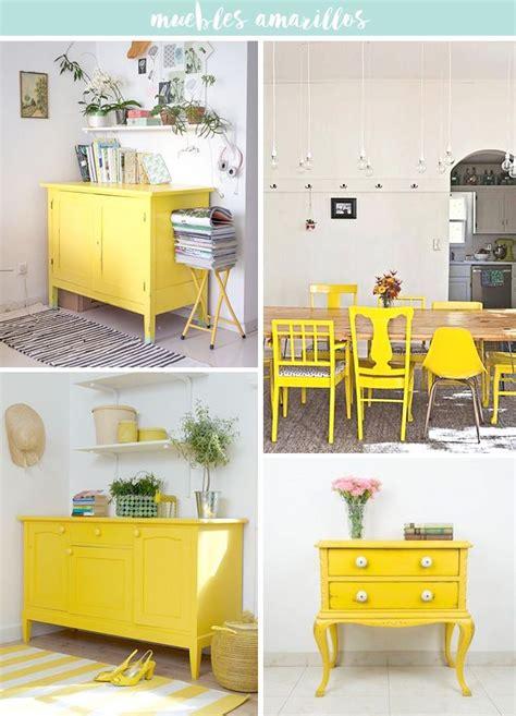 inspiracion pon  toque amarillo  alegrar la casa muebles amarillos ideas de muebles