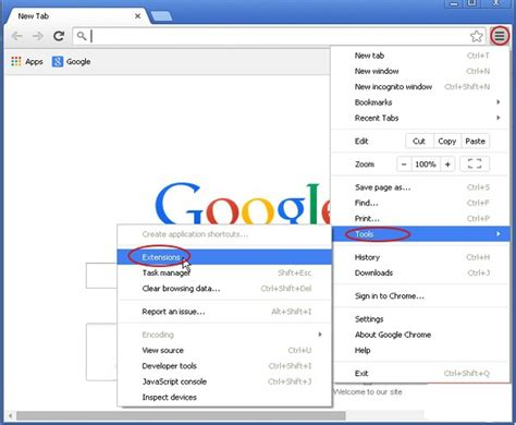 chrome extension settings your pc fixer ads by mega offers removal guide