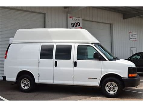 how cars run 2006 gmc savana cargo van transmission control buy used 2006 gmc savana 2500 cargo van hightop conversion handicap lift wheelchair work in